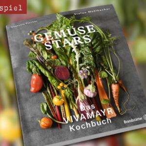 """In""""Gemüse Stars. Das VIVAMAYR Kochbuch""""lernen Sie die wirkungsvolle Kraft von frischem, saisonalem und regionalem Gemüse mit einfachen Rezepten kennen"""