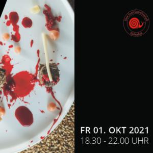 """Unter dem Festivalthema """"KÜCHENKULT goes Slow Food"""" verwöhnen Villachs Genusskünstler:innen an drei Wochenenden mit neun genussvollen Events"""